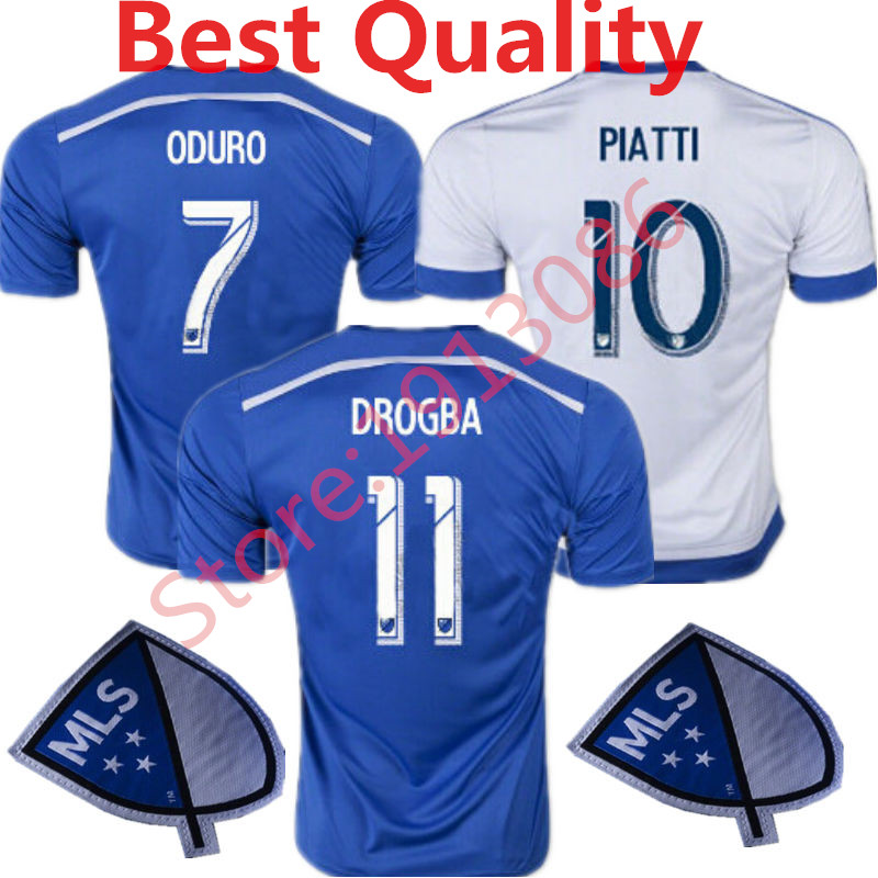 quality design f975b 849ed US $14.99 |2015 Montreal Impatto Soccer Jersey 2016 Didier Drogba Football  Shirts 15 ODURO BERNIER PIATTI Collen Warner camisetas de futbol on ...