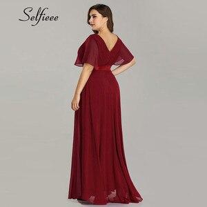 Image 3 - New Summer Women Dress Plus Size S 9XL Elegant A Line V Neck Short Maxi Sleeve Beach Dresses Boho Long Party Dress Robe Femme