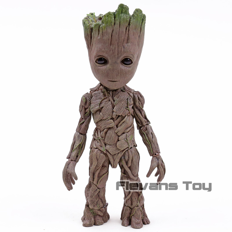 Hot Toys Guardians of the Galaxy The Tree Man 1/6 Scale PVC Action Figure Collectible Model Toy цена