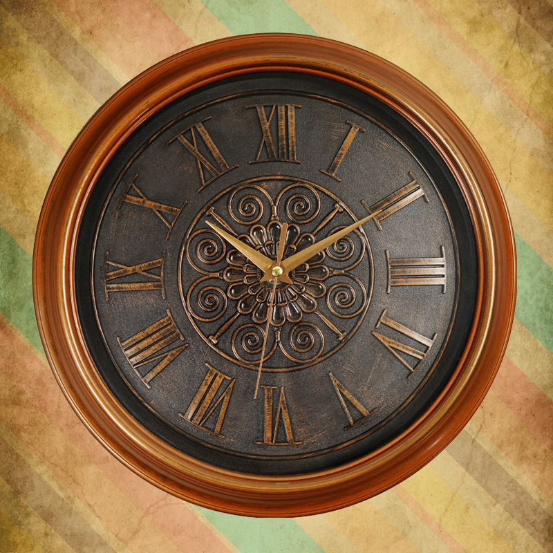Horloges américaines montres salon horloges de tête de cerf créatives européennes rétro décoration de ménage montres montres à Quartz silencieux