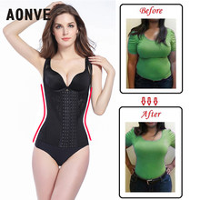 Aonve Slimming Shapewear High Waist Modeling Strap Body Shaper Sheath Belly Shaping Girdle Corrective Underwear Plus Size 6XL(China)