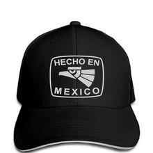 ff2993ffb6926 Homme camisetas Baseball cap Hecho En Mexico Funny Hat Mexican Humor cool  tsnapback(China)