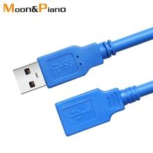 USB 3.0 Uzatma Kablosu Yüksek Hızlı Veri Hattı Akıllı TV için PS4 Xbox Dizüstü Bilgisayar Genişletici veri Kablosu 1 m 1.5 m 3 m