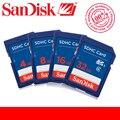 100% Genuine SanDisk 64GB 32GB 16GB 8G 8GB 4GB C4 SD SDHC Memory  SD Card class 4 Camera Memory Cards Pass Official Verification