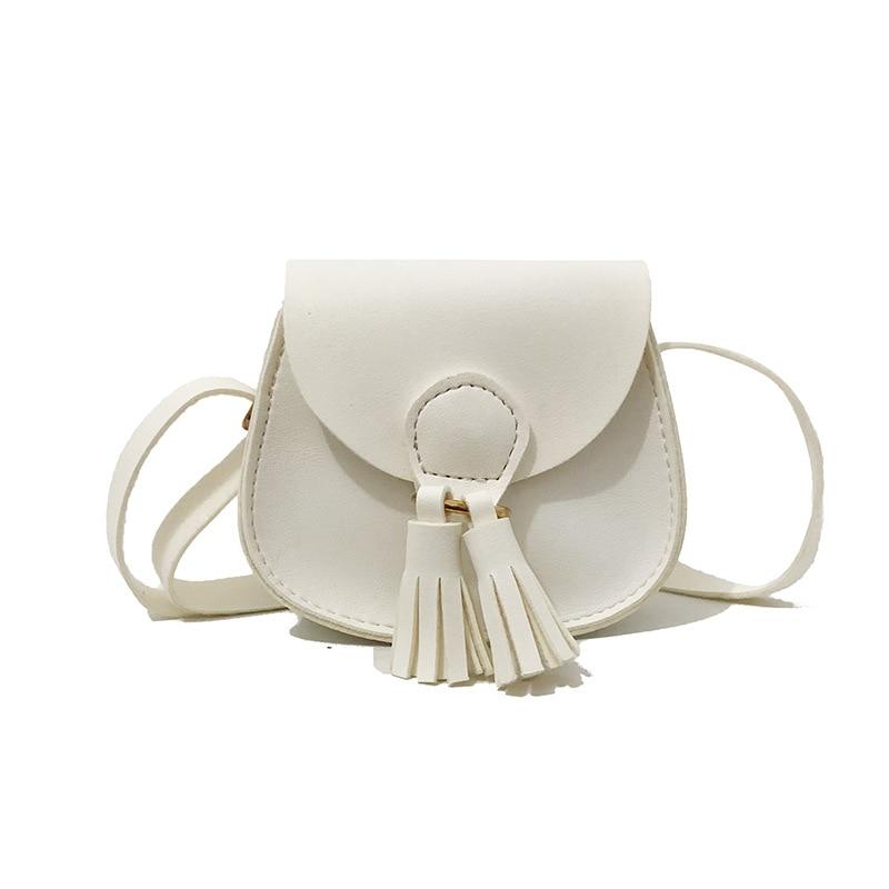 Mini Handbags Women Messenger Bags Tassel Shoulder Bags Kid Girls Crossbody Bags Summer 2019 New