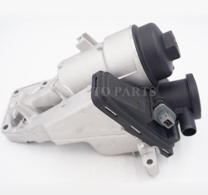 Oil Filter Housing for Volvo S80 S60 V70 C70 C30 S40 V40 V50 5 2.4L 2.5L turbo Cylinder 31338685 image