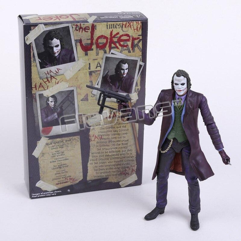 """Image 5 - Нека DC комиксы БЭТМЭН Супермэн Джокер ПВХ экшн фигурка коллекционная игрушка 7 """"18 смthe jokerdc comicscomics batman  АлиЭкспресс"""