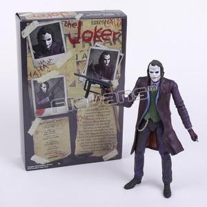 """Image 5 - NECA figuras de acción de DC Comics, Batman, Superman, Joker, juguete coleccionable de PVC de 7 """"y 18cm"""