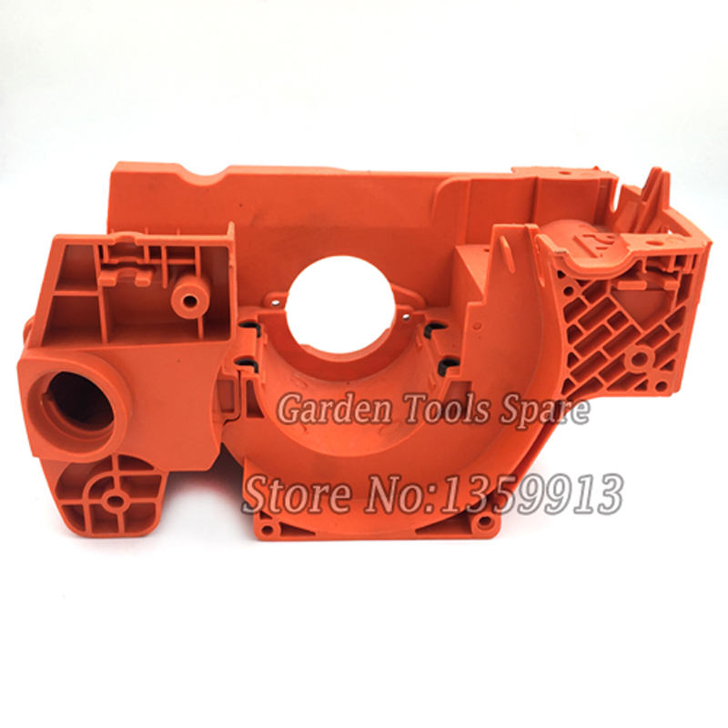 Chainsaw crank case assy fits for Husq137 141 142  chainsaw 38mm cylinder piston crank case housing bearing kit fit husqvarna 137 142 new