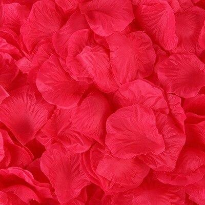2000pcs/lot Wedding Party Accessories Artificial Flower Rose Petal Fake Petals Marriage Decoration For Valentine supplies 37