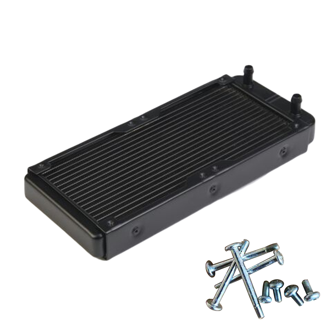 NOYOKERE Hot Sale 240mm G1/4 Aluminum Computer Radiator Water Cooling For CPU LED Heatsink new arrival 1pc 240mm aluminum computer radiator water cooling cooler frequency conversion driver for cpu led heatsink