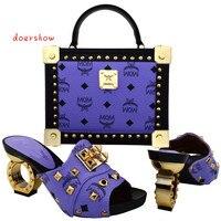 Doershow Moda Zapatos y bolsos a juego de diseño Italiano para la señora, buen material en el comercio minorista y al por mayor, Envío envío gratuito! WVL1-12