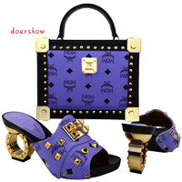 Fashion Shoes And Bags To Match Italian Design For Lady Good Material In Retail And Wholesale