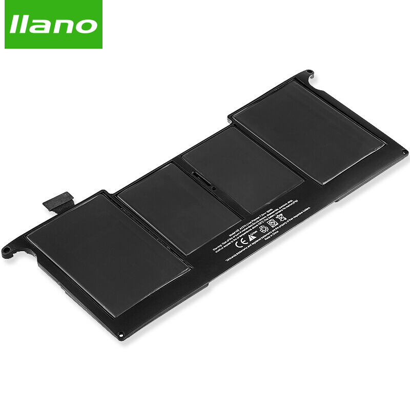 Llano A1375 Laptop Battery for APPLE MacBookAir A1370 MC505 MC506 for MacBookAir 11.6in 4790mAh for Macbook notebook battery qinern 10 95v 73wh laptop battery for apple macbook battery for laptop macbook a1382 notebook battery for apple
