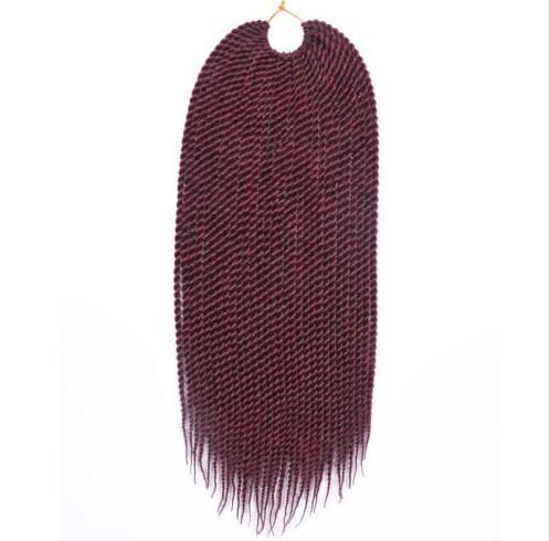 Venda quente eunice cabelo kanekalon crochê torção do cabelo 18
