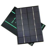 חמה למכירה 10 יח'\חבילה מודול תאים הסולרי 6 V 700mA 4.2 W פנל סולארי Polycrystalline 3.6 V מטען סוללות 200*130 מ