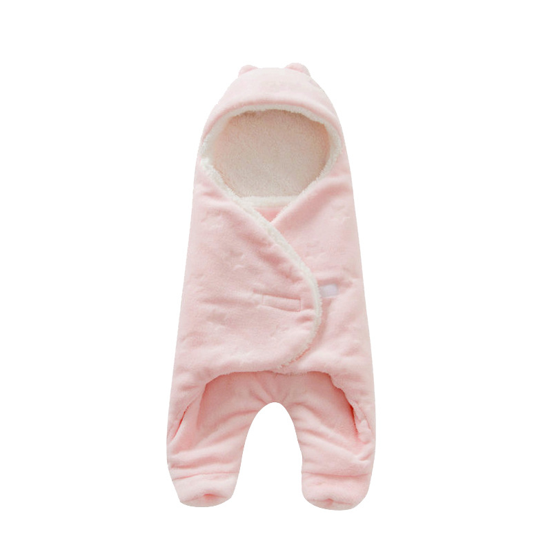 Baby-Sleeping-Bag-6880cm-Coral-Fleece-baby-swaddle-blanket-Winter-Footmuff-Saco-Bebe-Cochecito-Dormir-Sac-De-Couchage-Enfant-4