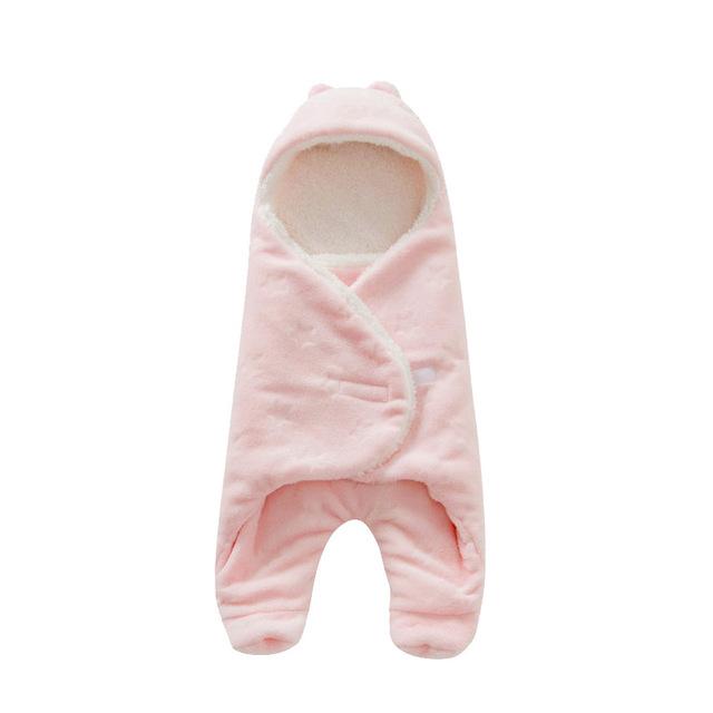 Coral Fleece Baby Sleeping Bag