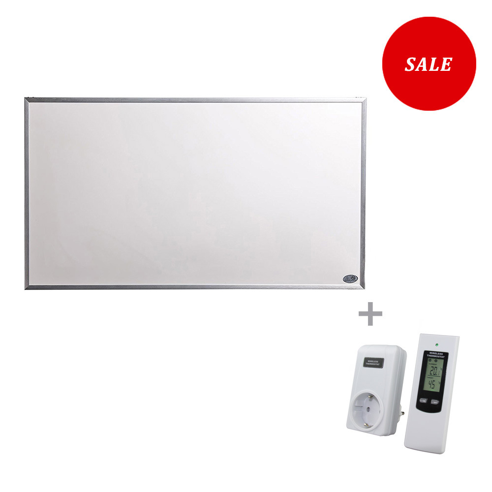 600W Infrared Radiant Panel Heater with