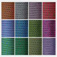 New Colors Paracord 550 100FT Paracord Rope Type III 7 Stand Parachute Cord Wholesale Outdoor Camping Survival Rope