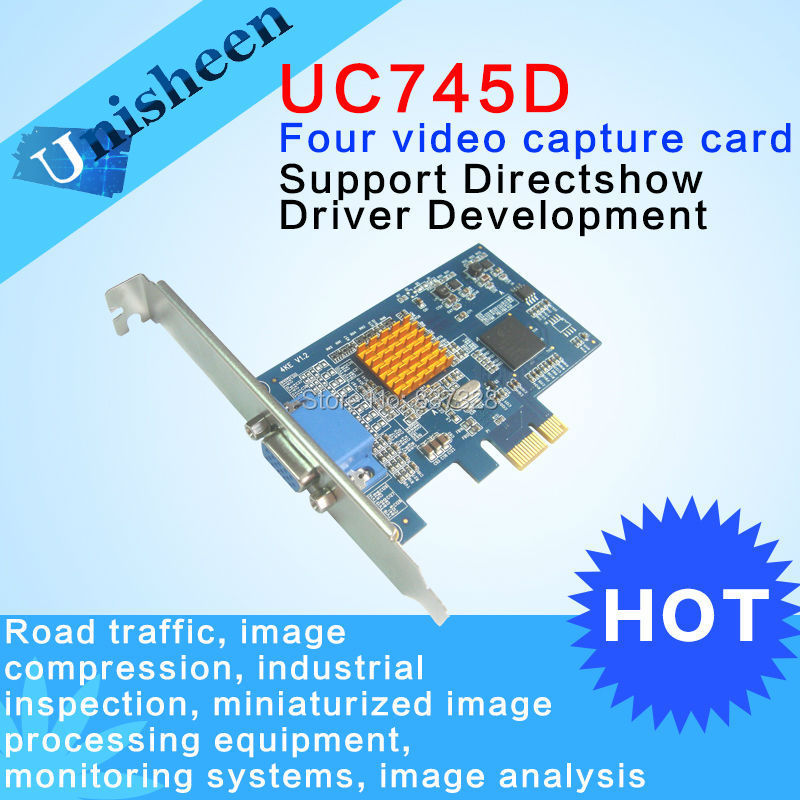 PCIe Video Capture Card 4 channel SDK industry inspection