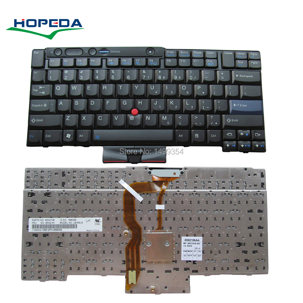 New Laptop Keyboard For <font><b>Lenovo</b></font> T410 T420 T410i T400S T420i <font><b>W520</b></font> T510i X220T X220i Keyboard Replacement image