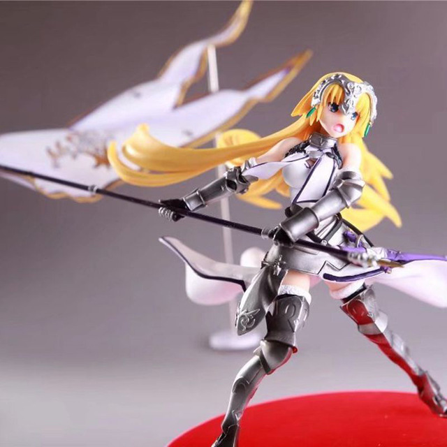 Fate Grand Order Joan of Arc Action Figure Waving Flags PVC Action Figure Collectible Model Toy no retial box (Chinese Version) 2