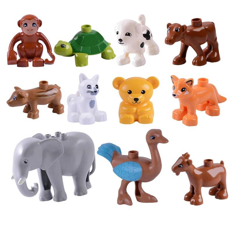 Animal Model Duploing Figures big Building Block Sets ...