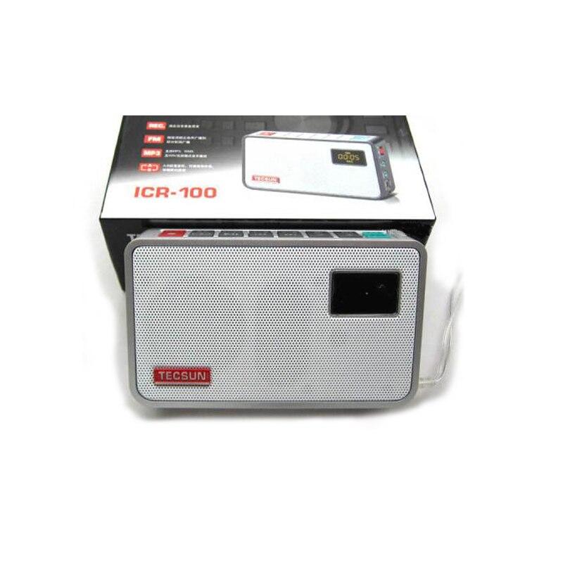 Besplatna dostava TECSUN ICR-100 TF kartica Mini-zvučnik snimač MP3 - Prijenosni audio i video - Foto 5