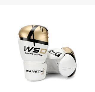 HIGH Quality Adults Women/Men Boxing Gloves MMA Muay Thai Boxe De Luva Mitts Sanda Equipments8 10 12 14 6OZ 2