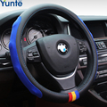 New Sport Leather Steering Wheel Cover,5Colors Car Covers,Fit Most Car Styling Factory Wholesale Free Shipping