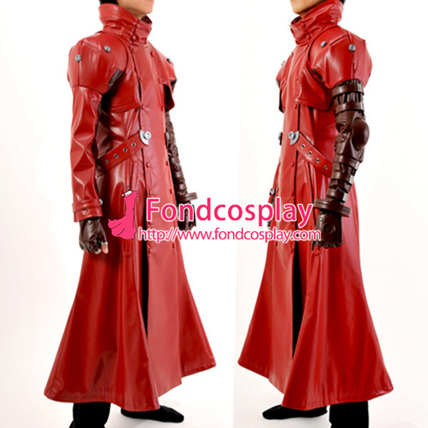 Free Shipping Trigun Vash The Stampede Outfit Jacket Coat Cosplay Costume Tailor-made