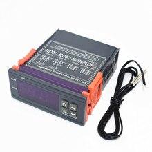 STC-1000 220 В ЖК цифровой термостат регулятор температуры для инкубатора два релейных выхода терморегулятор нагреватель и охладитель