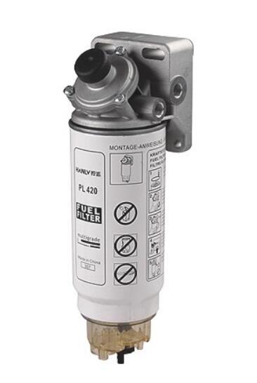 Automobile moteur carburant PL420 fuelwater séparateur filtre diesel moteur FS19907 1433649 SOLARIS DAF HOMME camion tête pompe avec la base