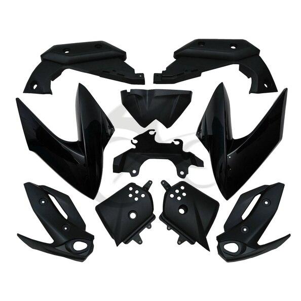 ABS Plastic Black Fairing Bodywork Cowl kit For 09-12 Yamaha XJ6 2009-2012 2011 Fairing bodywork