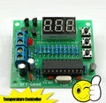 Kit DIY eletrônico Termômetro Digital/kit microcontrolador AT89C2051 + DS18B20 sensor de temperatura/Controlador de Temperatura