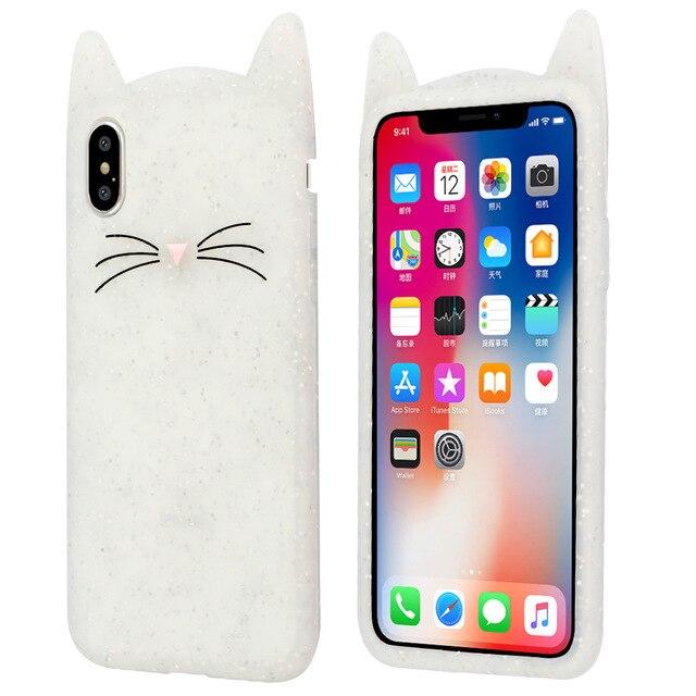 coque iphone x oreille de chat
