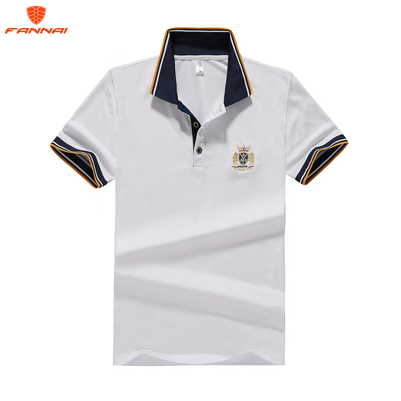 Men's Large Size   polo   Shirt M-6XL 7XL 8XL Summer Solid Casual Men's   Polo   Shirt High Quality Men's Short-Sleeved Shirt