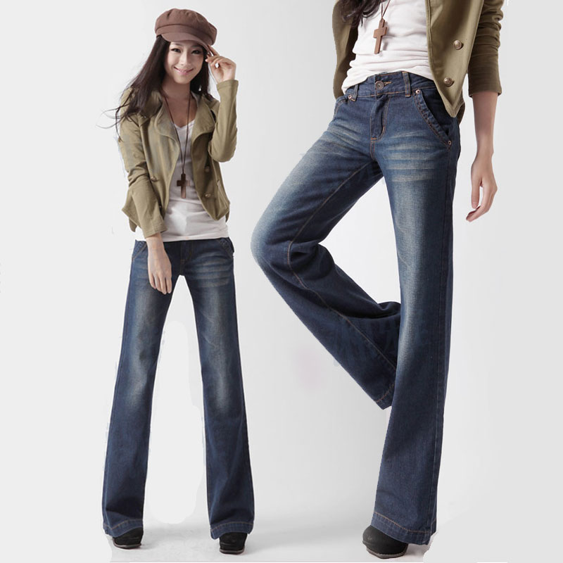 Popular Wide Leg Jeans-Buy Cheap Wide Leg Jeans lots from China ...