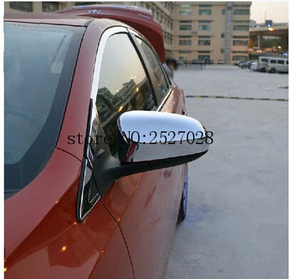 REAR MIRROR COVER FIT FOR TOYOTA YARIS L 2014 Chrome REAR MIRROR TRIM PROTECTOR Auto font