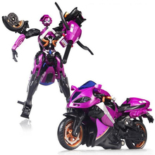 Arcee Carroll Robot Toy Motorcycle Action Figures Toys & Hobbies 14cm High Deluxe Class Classic Toys For Children Christmas Gift