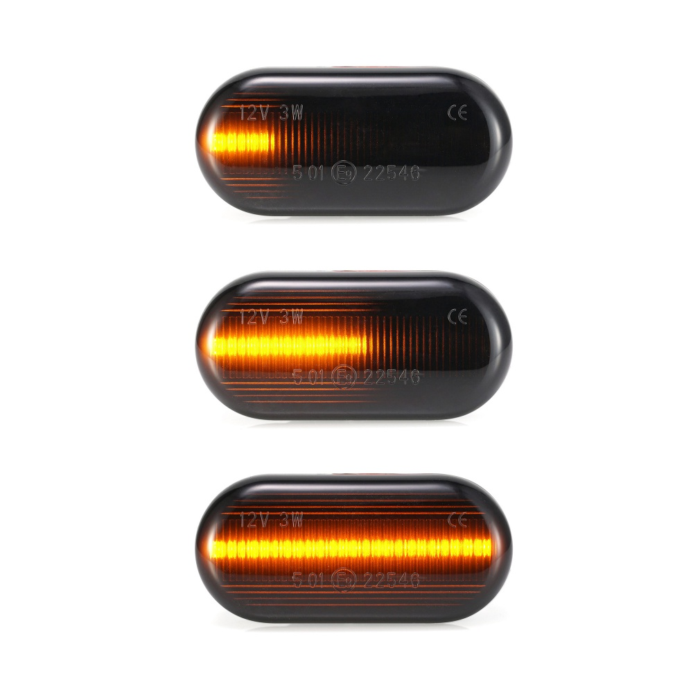 2pcs Led Dynamic Turn Signal Side Marker Light Sequential Blinker Light  For Nissan Qashqai Navara Micra Pathfinder Note 350Z