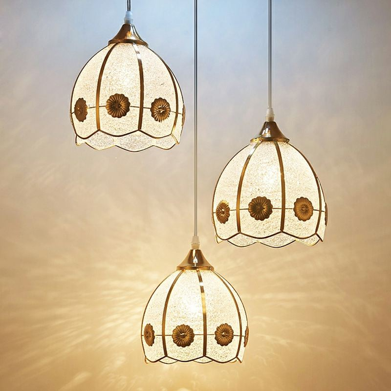 Modern Golden Plastic Bar Counter Pendant Light Dining Room Luxury Pendant Lamp Restaurant Creative Pendant Lamp Fixtures