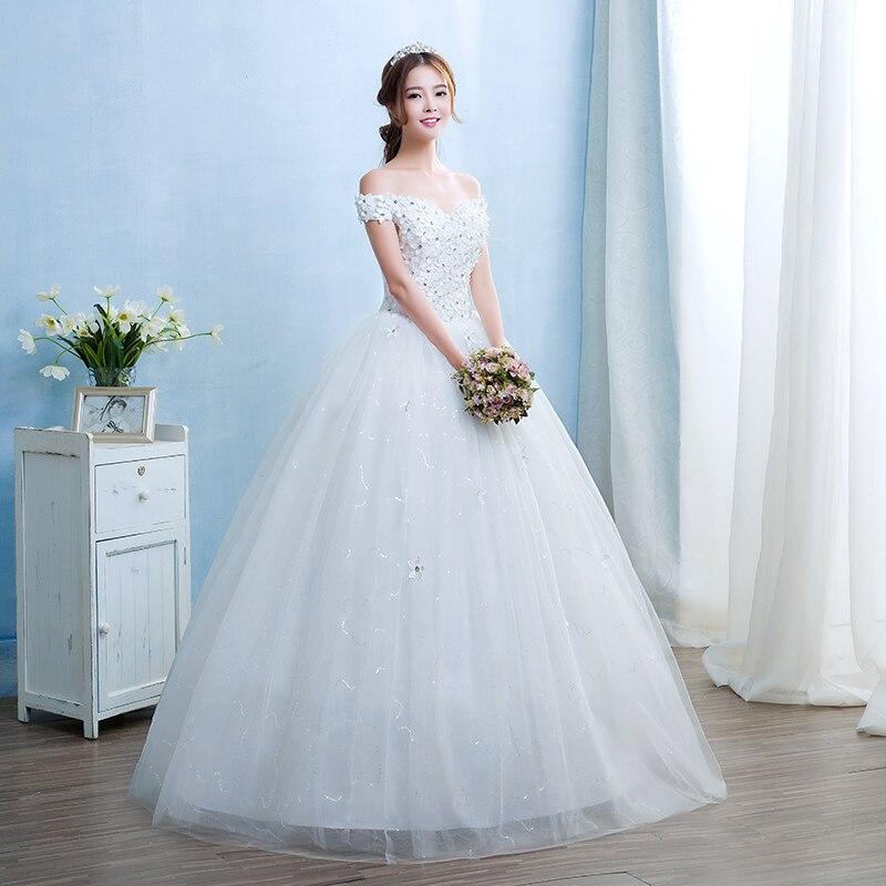Real Photo Customized Fashion Simple grils Vestido De Noiva Wedding ...