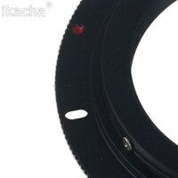Алюминиевый винтовой объектив M42 для Canon EOS EF, кольцо-адаптер Rebel для Canon XSi T1i T2i 1D 550D 500D 60D 50D7D 1000D 2