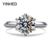 Luxury 2 Carat SONA Simulated Diamond Engagement Rings Set Pure 925 Sterling Silver Ring Wedding Jewelry