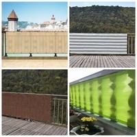 0.9x1, 8/2, 7/3, 6m HDPE anti-UV sombrilla neto casa balcón cerca de la red de seguridad cubierta para plantas de jardín sombreado de terraza de privacidad de red