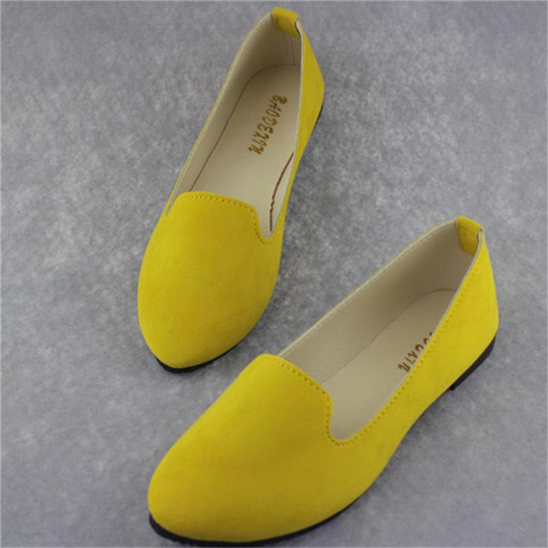 Big Size Women Flats Candy Color Shoes Woman Loafers Summer Fashion Sweet Flat Casual Shoes Women Zapatos Mujer Plus Size 35-43 plus size 34 43 new platform flat shoes woman spring summer sweet casual women flats bowtie ladies party wedding shoes