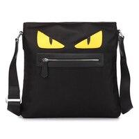 2017 New Little Monster Eye Shoulder Bag Casual Oxford Tote Bags Designer For Men Women Mini