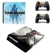Tomb Raider PS4 Slim Skin Sticker